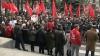 Comuniştii ies din nou în stradă: PCRM pregăteşte proteste în masă
