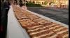 Veselie mare în capitala Mexicului. A fost gătită o prăjitură gigant de peste 1.440 de metri lungime