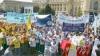 Sute de oameni au ieşit la proteste în România, pentru a şasea zi consecutiv