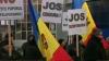 Iurie Roşca protestează la Publika TV