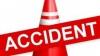 Accident în lanţ pe viaduct: Trei maşini au fost grav avariate