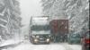 25 de camioane din Moldova au rămas blocate în nămeţii din România