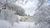 Iarnă din plin: În sudul Moldovei stratul de zăpadă a ajuns până la jumătate de metru