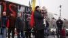Altercaţii la protestul Comitetului pentru Apărarea Constituţiei şi Democraţiei VIDEO