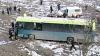 Autobuz răsturnat în această dimineaţă pe traseul Chişinău-Anenii Noi