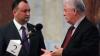 Dodon îi cere lui Voronin susţinere în reforma simbolicii de stat
