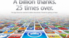 Apple a ajuns la 25 de miliarde de descărcări de aplicaţii