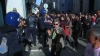 Ciocniri între manifestanţi şi forţele de ordine, în timpul unui miting în Lisabona