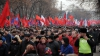 Comuniştii împânzesc străzile Chişinăului. Urmăreşte ÎN DIRECT protestul PCRM
