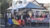 Comunitatea basarabenilor din Irlanda a protestat la ambasada Rusiei din Dublin