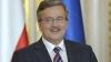 Felicitări din partea președintelui Republicii Polone pentru Nicolae Timofti