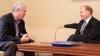 Liderul comunist, Vladimir Voronin, la sfat cu oficialii americani