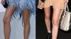 Vedete slabe: Topul celor mai subţiri picioare din showbiz FOTO