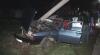 Accident în Capitală: O maşină a intrat într-un stâlp de electricitate