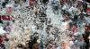 Peste 100 de oameni s-au bătut cu perne în Taiwan