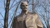 Monumentul lui Lenin din Donduşeni, vandalizat din nou VIDEO