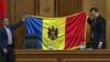 Marian Lupu a făcut un cadou Parlamentului, cu ocazia Zilei Drapelului de Stat VIDEO
