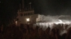 Risc de catastrofă ecologică: O navă s-a izbit de stânci în Marea Britanie