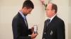 Novak Djokovic a fost decorat cu o medalie pentru Educaţie Fizică şi Sport