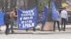 Proteste în faţa Guvernului şi Procuraturii: Vrem adevărul despre 7 aprilie