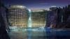 Primul hotel proiectat în adâncime FOTO
