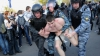 Arestări violente la Moscova. Sute de protestatari și jurnaliști, luați pe sus de poliție (GALERIE FOTO, VIDEO)