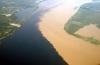 Spectacolul naturii. 12 imagini uluitoare de la confluenţa a două râuri GALERIE FOTO