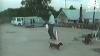 Câinele piroman: A furat o rachetă cu artificii aprinsă VIDEO