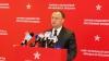 Dodon discută cu oficialii europeni despre Legea Opoziţiei