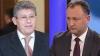 """Schimb de replici dure între """"românul"""" Ghimpu şi """"moldovanul"""" Dodon VIDEO"""