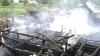 Opt case, incendiate intenţionat în raionul Floreşti