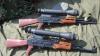 Comerţ cu mitraliere, Kalaşnikov şi grenade. Traficantul, reţinut când transfera 9.000 de euro