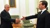Voronin l-a felicitat pe Medvedev: Să faceţi faţă provocărilor!