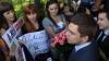 Proteste în Ucraina, la o zi după bătaia din Parlament VIDEO