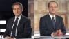 Nicolas Sarkozy şi Francois Hollande au avut ultimele întâlniri cu alegătorii