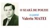 """""""O seară de poezie"""" cu scriitorul Valeriu Matei"""
