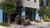 Atac la sediul Microsoft din Atena. O bombă a distrus intrarea în edificiu
