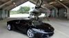 Lamborghini Aventador versus un avion de vânătoare F16 Fighting Falcon