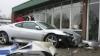 La shopping cu Porsche-ul. O şoferiţă a intrat cu maşina într-un magazin VIDEO