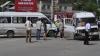 Două MICROBUZE implicate în accident la Durleşti. Trei persoane internate FOTO, VIDEO