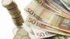 Cursul BNM: 15 lei şi patru bani pentru un euro