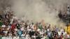 Federaţia Germană de Fotbal a fost amendată pentru conduita necorespunzătoare a fanilor