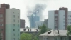 Incendiu de amploare în Rusia: Un zgârie-nori a luat foc VIDEO