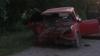 Proaspăt şofer: A lovit o maşină şi a ucis pasagerul FOTO