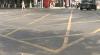 În unele intersecţii din Chişinău au apărut marcaje galbene
