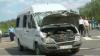 Medicii sunt rezervaţi în privinţa supravieţuirii şoferului microbuzului de pe linia 110 implicat în accidentul din Capitală