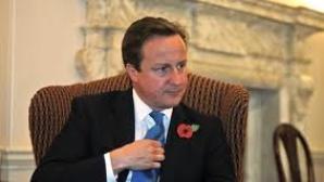 Premierul britanic, David Cameron, şi-a uitat fiica într-un local