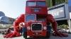 Autobuz Double Decker transformat în atlet pentru Jocurile Olimpice de la Londra FOTO
