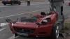 """Vezi cum arată un Ferrari 612 Scaglietti după ce """"s-a întâlnit"""" cu un stâlp VIDEO"""