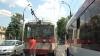 O ruptură a firelor electrice a perturbat, timp de o oră, circulaţia troleibuzelor în Capitală
